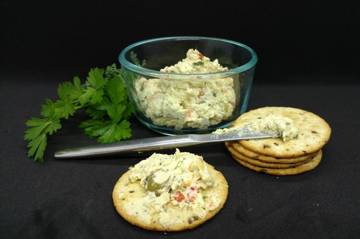 Snack Recipe - Cashew Veggie Dip